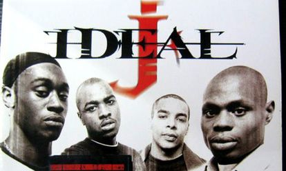 Les membres du groupe Ideal J