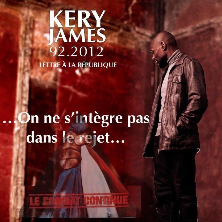 Pochette album Lettre à la République de Kery James