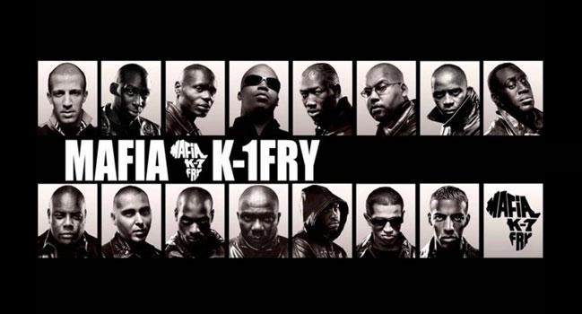 Les membres du groupe Mafia k1 fry